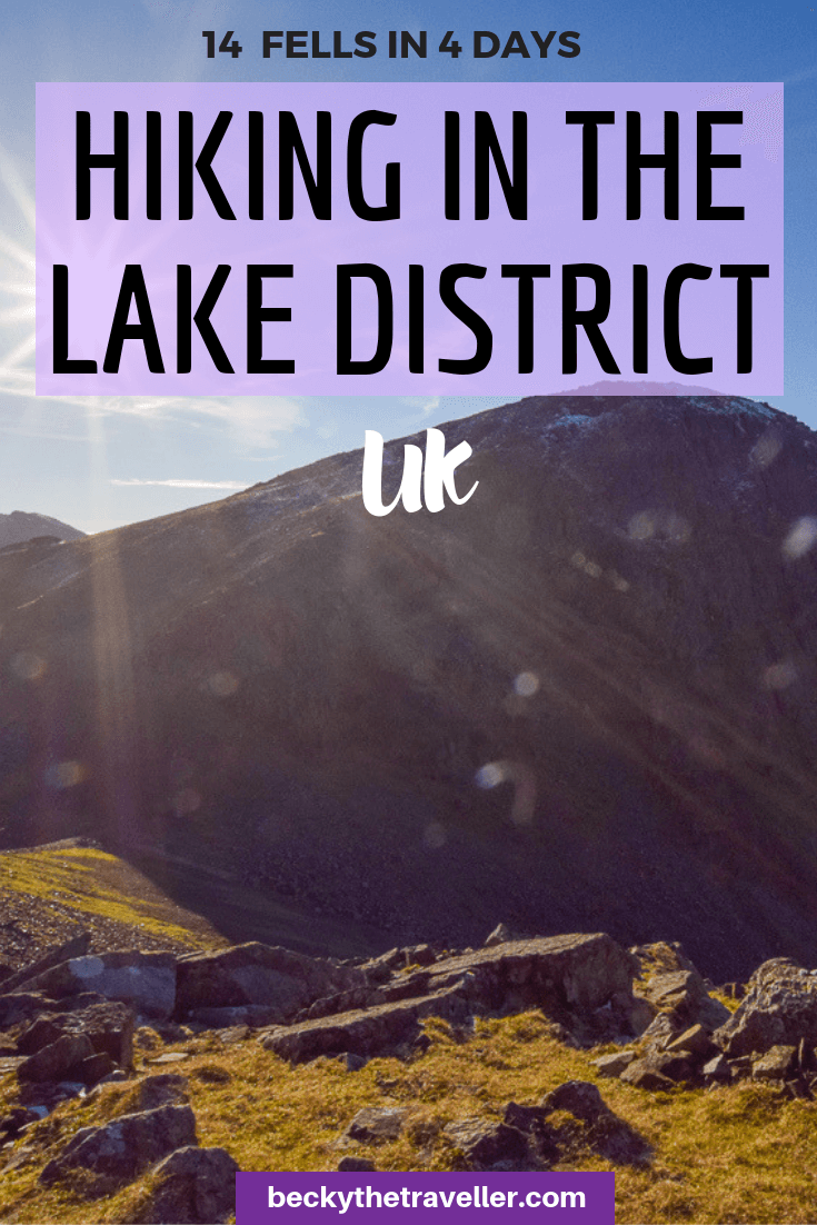 Fell walking in the Lake District - Borrowdale walks 4