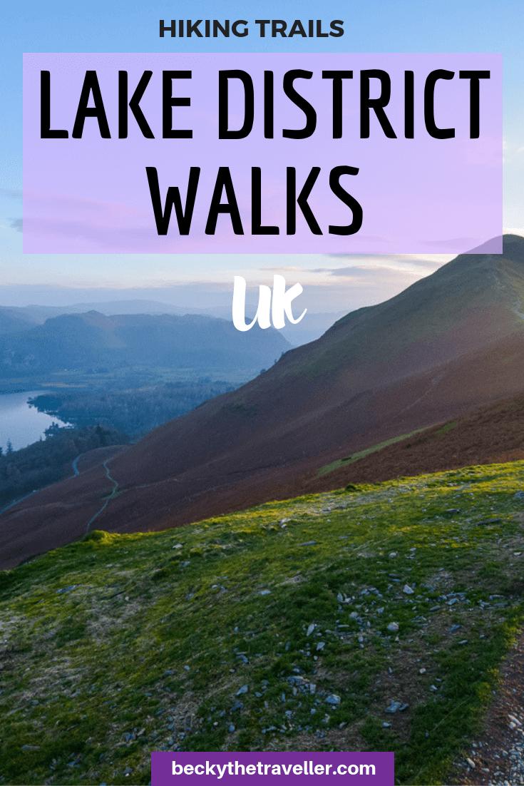 Fell walking in the Lake District - Borrowdale walks 4