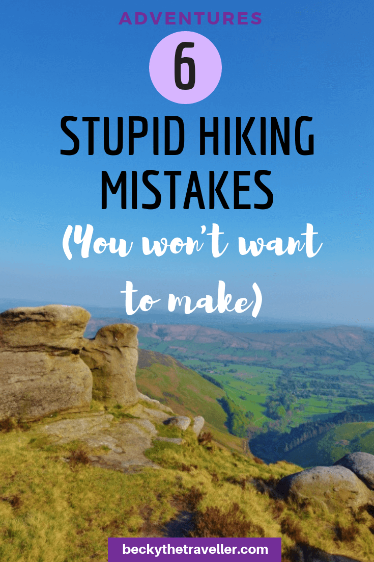 Hiking Mistakes 4