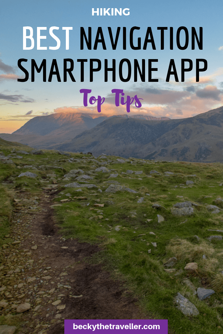 Using smartphone for navigation