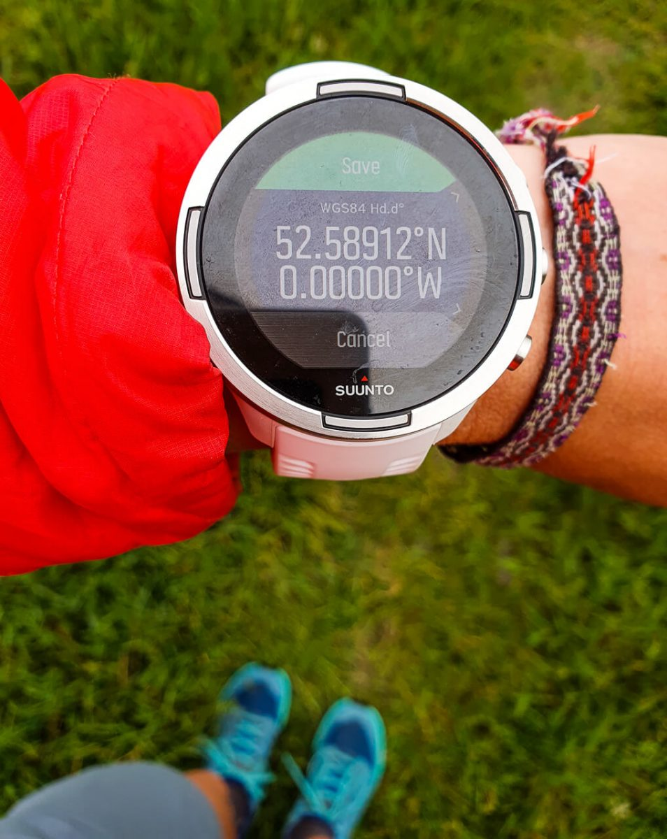 Long distance gear - Suunto watch