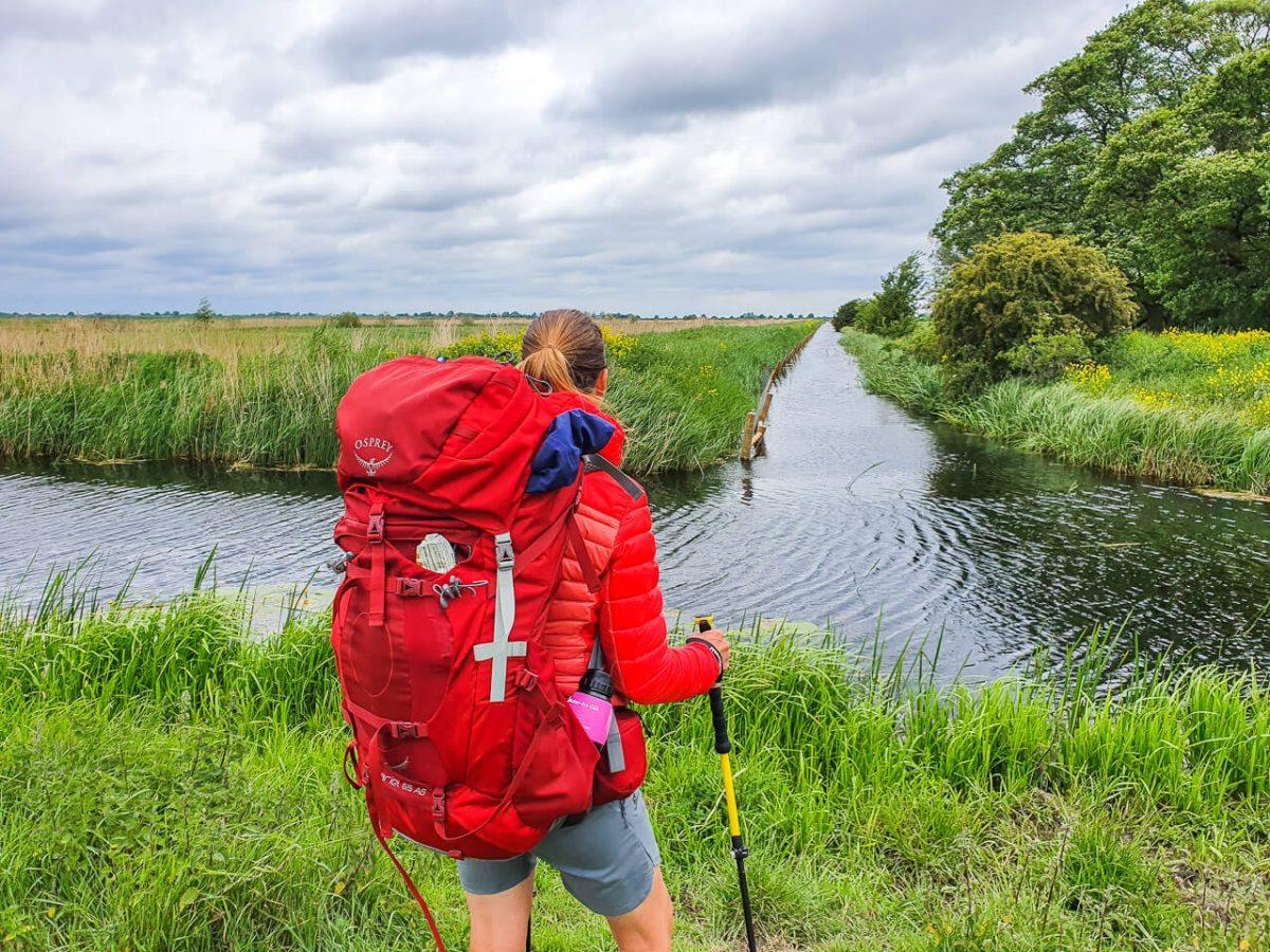 Long distance hiking gear