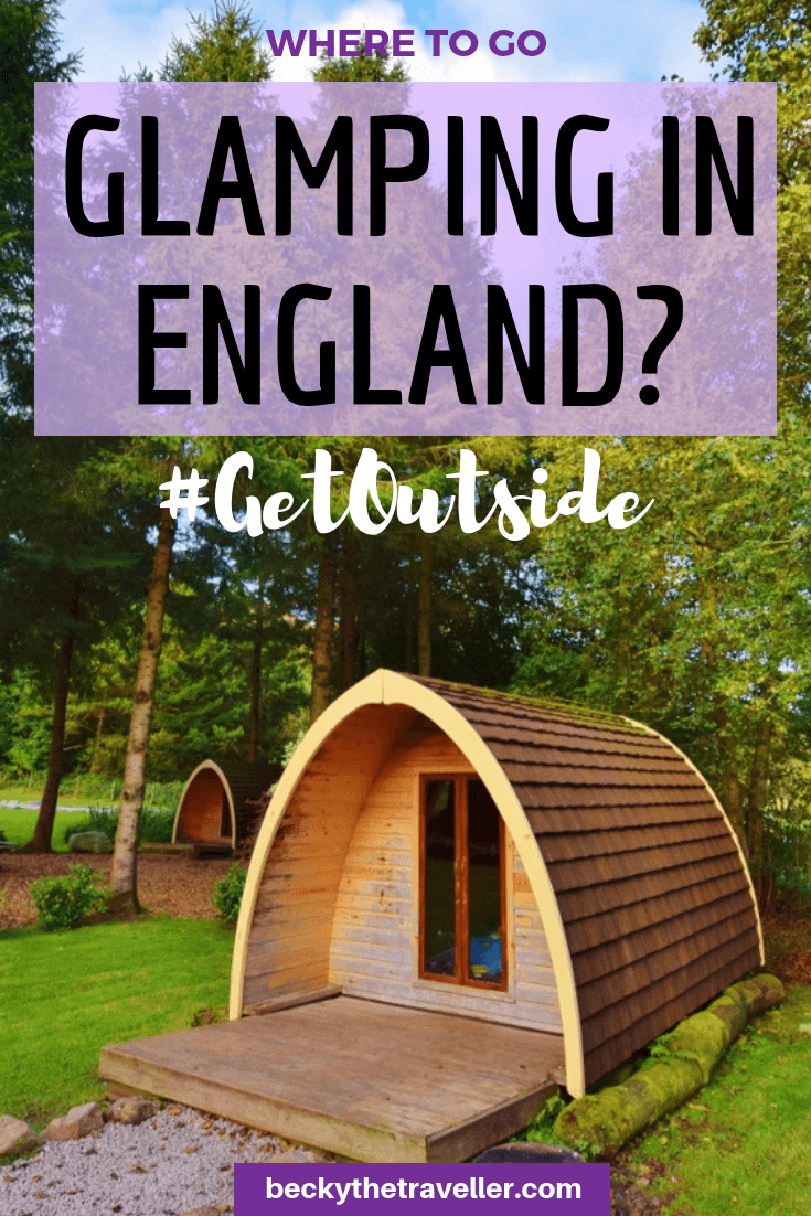 Glamping pods England