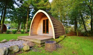 Glamping pods - Eskdale campsite