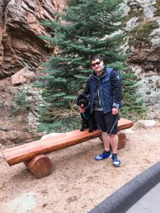 ordan_with_Carl_in_Aspen Wild camping trip