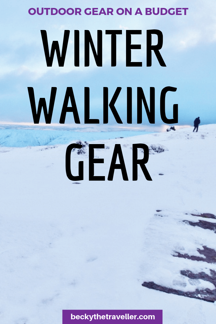Winter walking gear 1