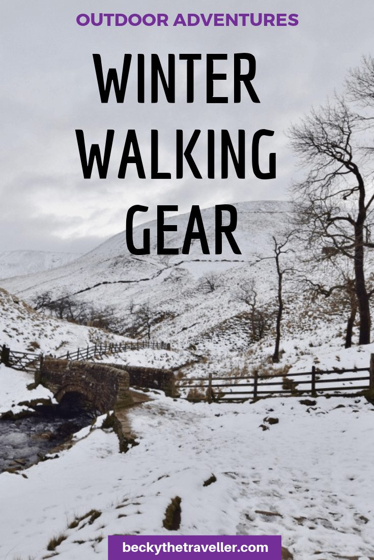 Winter walking gear 2