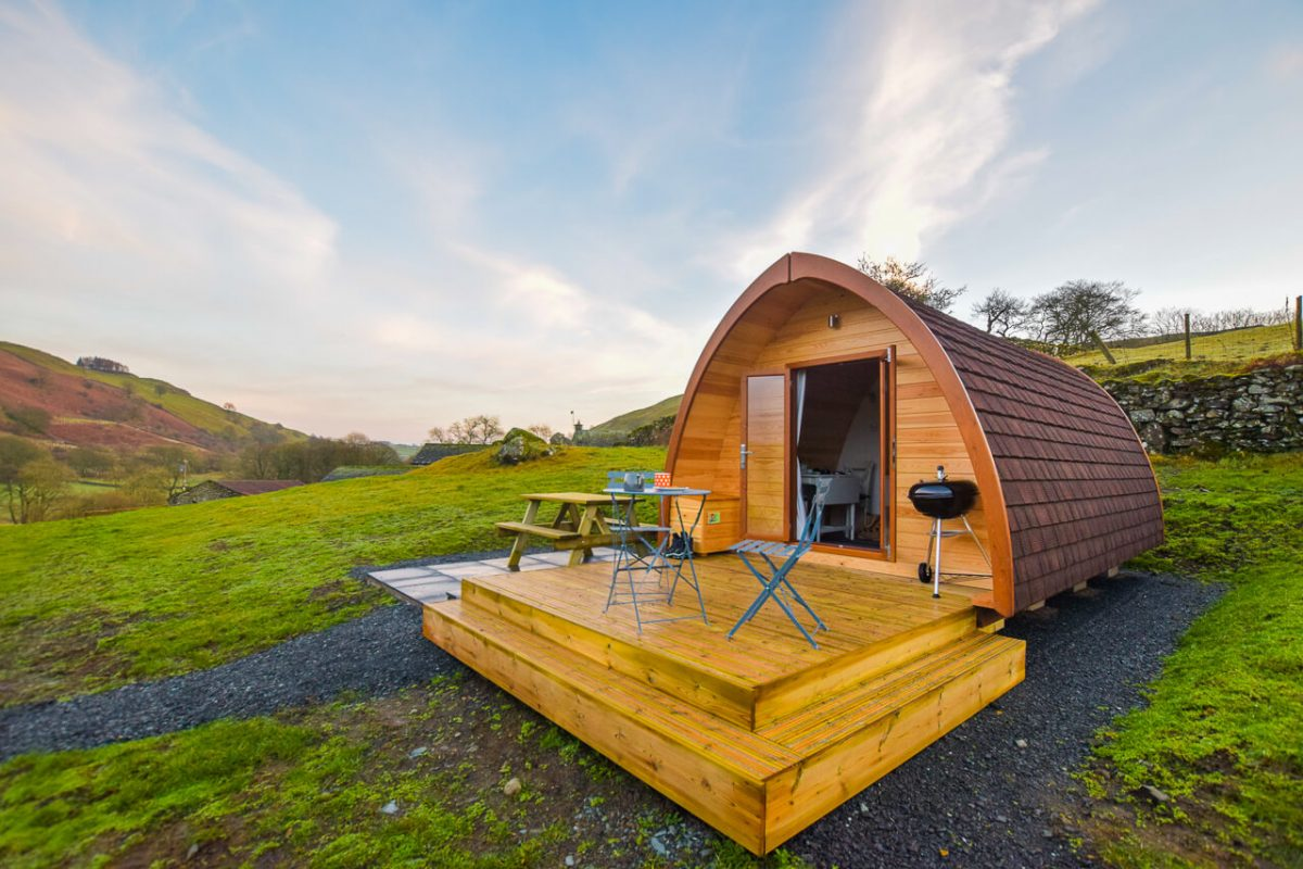 Kentmere Farm Pods Lake District