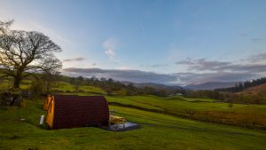 Glamping - Kentmere Farm Pods Lake District