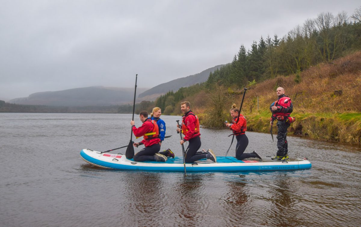Stand Up Paddleboarding, Parkwood Outdoor Dolygaer Activity Centre