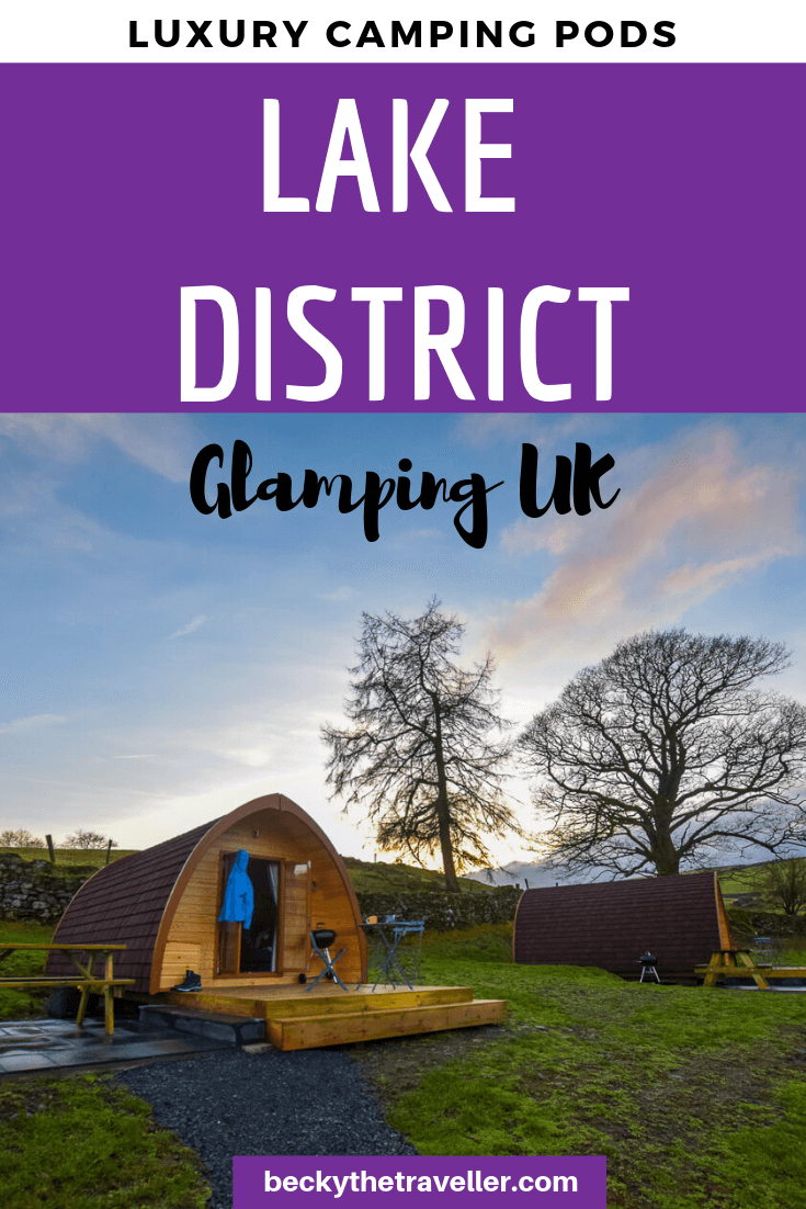 Glamping in the Lake District - Camping Pods 3