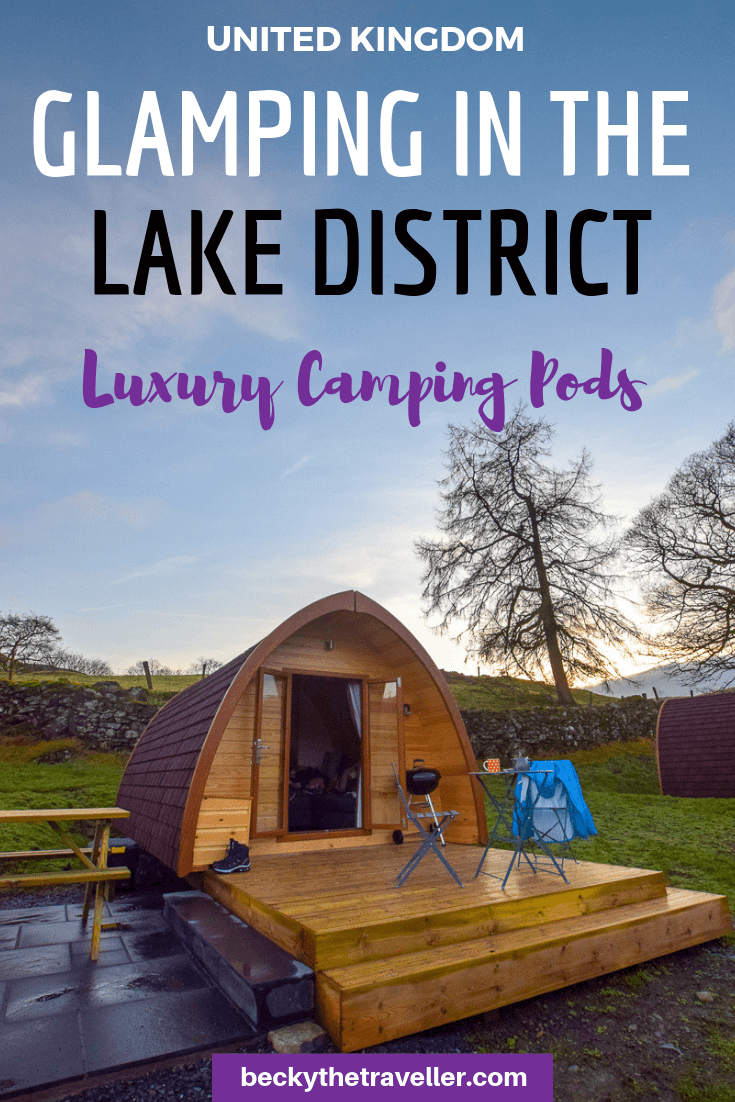Glamping in the Lake District - Camping Pods1