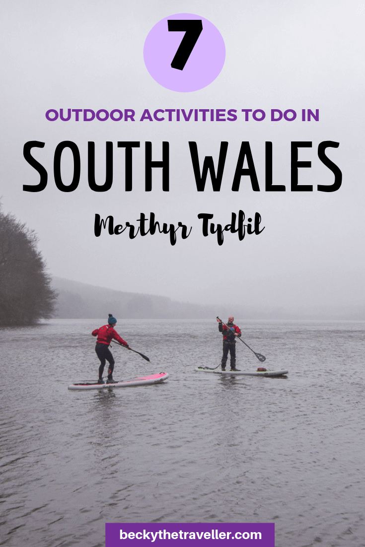 Outdoor activities in Merthyr Tydfil, South Wales
