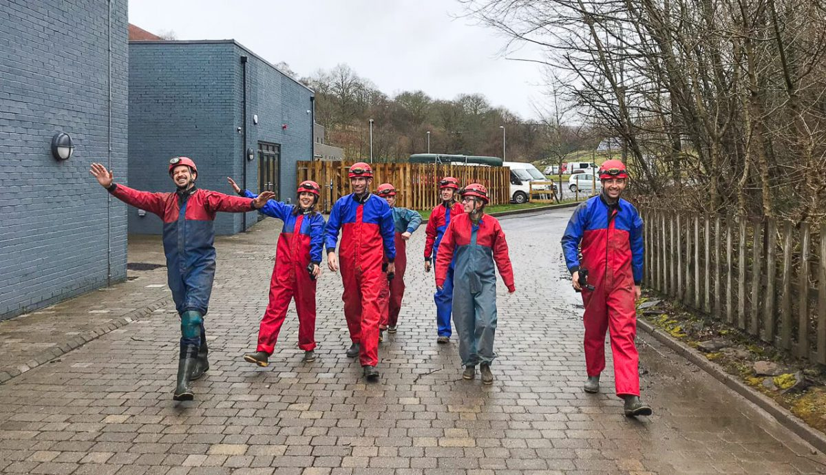 Summit Centre - Off to go Caving