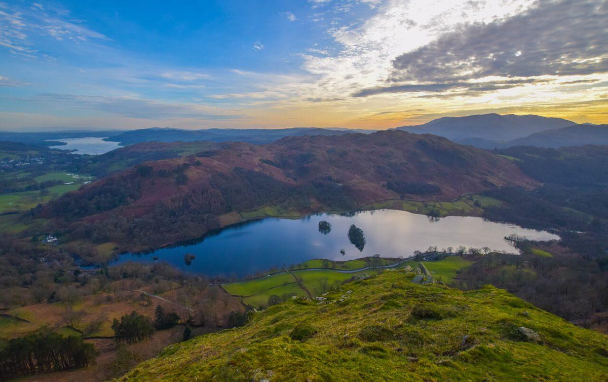 Rydal Water Lake District