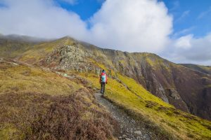 Blencathra Lake District walk - Hall's Fell