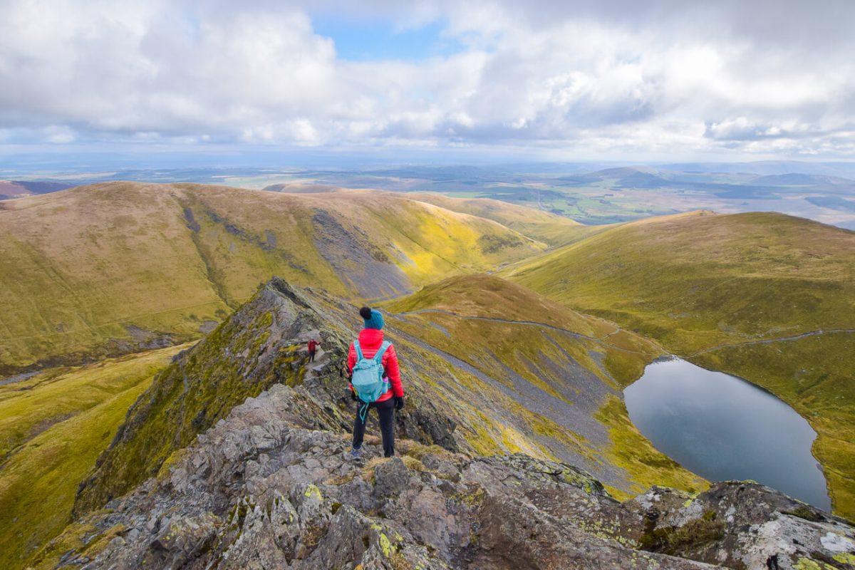 Blencathra Lake District via Sharp Edge