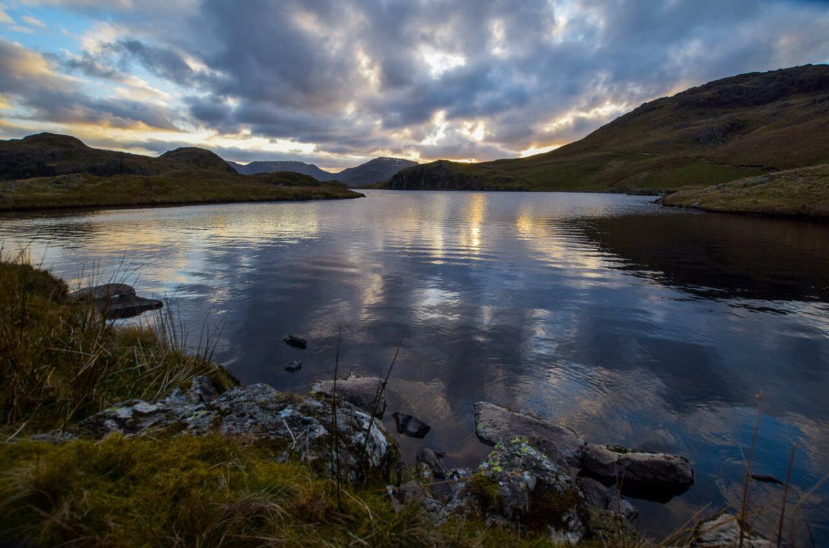 Angle Tarn walk in the Lake District