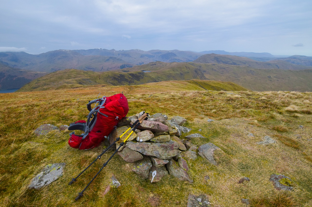 Lake District best walks - Osprey backpack