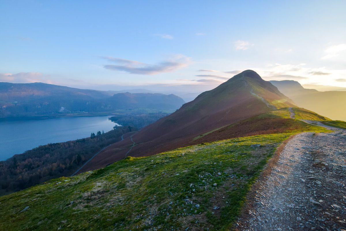 Catbells walk Lake District