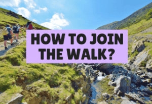 E2W Challenge - How to join the walk