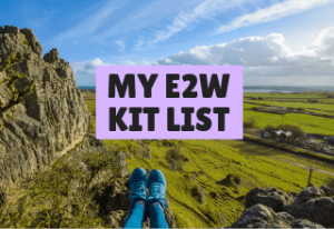 E2W Challenge - My kit list