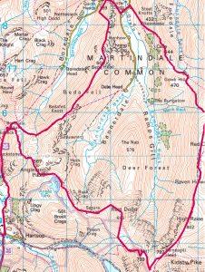 Hartsop route via High Raise, Beda Fell, Lake District