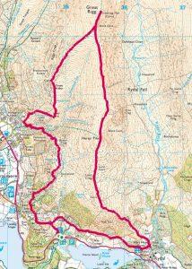 Heron Pike + Great Rigg, Lake District