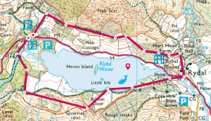 Rydal Water, Lake District walks