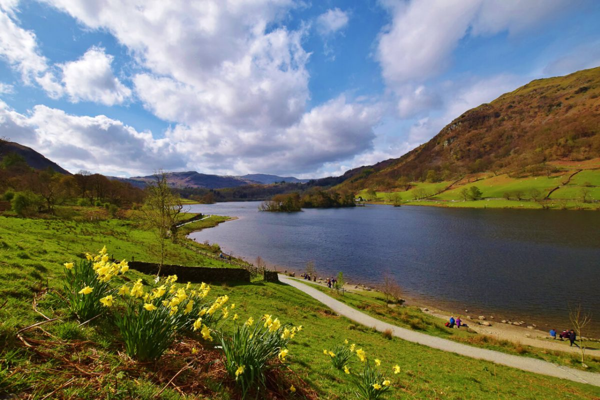 Rydal Water walk Lake District
