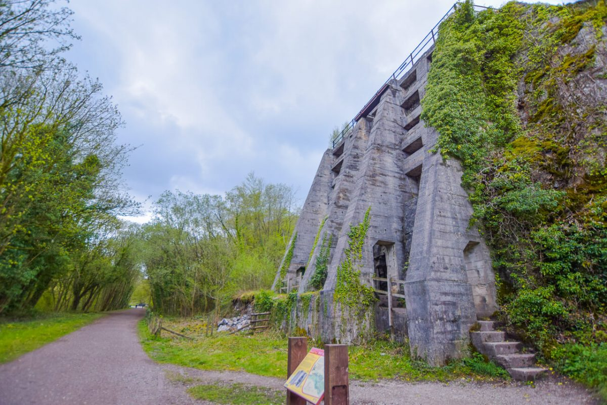 East Buxton Lime Kiln Chee Dale Peak District -