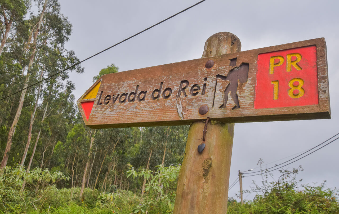 Levada do Rei easy walk, Madeira