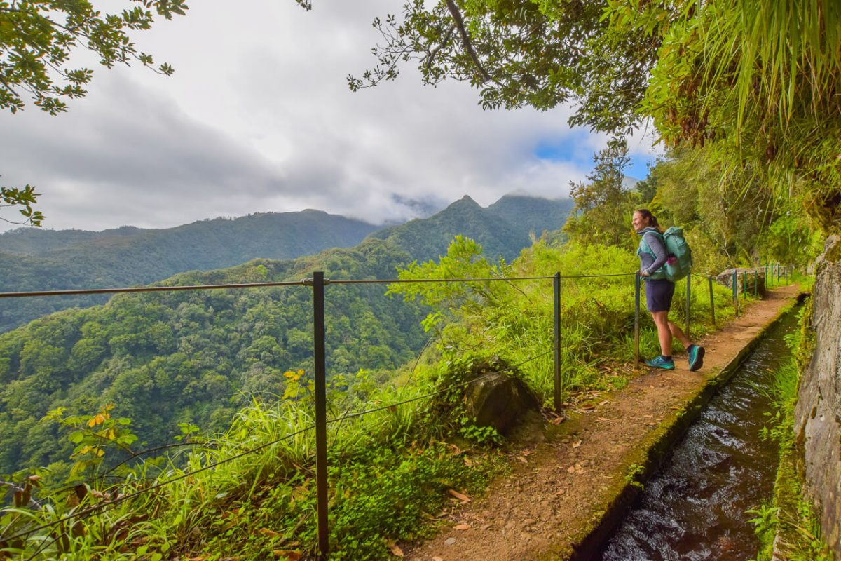 Levada do Rei walk views Madeira