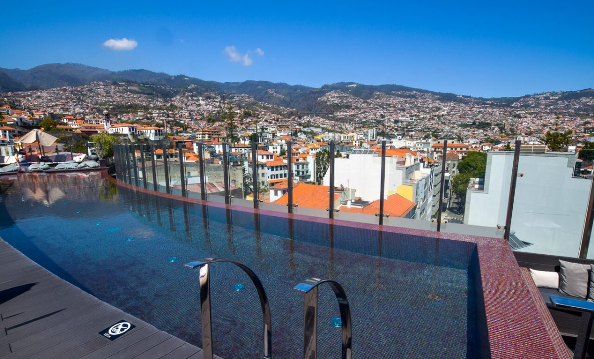 The Outside Pool The Vine Hotel, Madeira