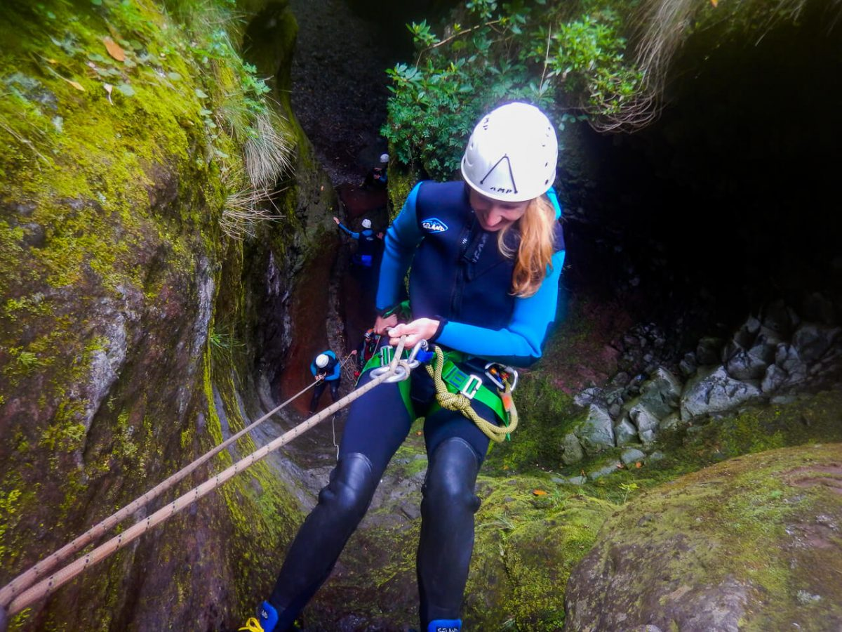 Canyoning with Epic Madeira