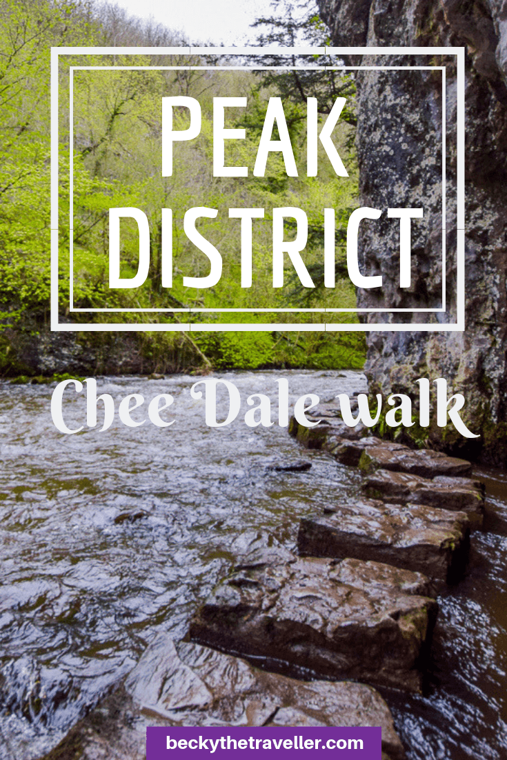 Chee Dale walk + stepping stones, Peak District 1