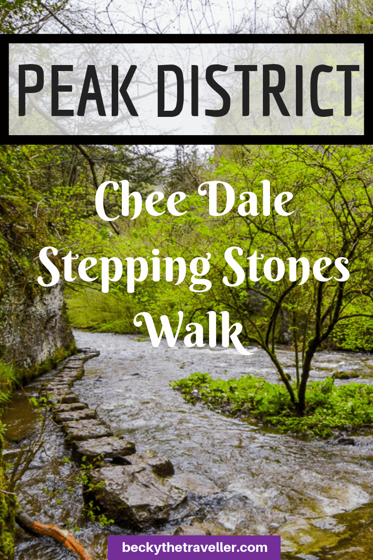 Chee Dale walk + stepping stones, Peak District 2
