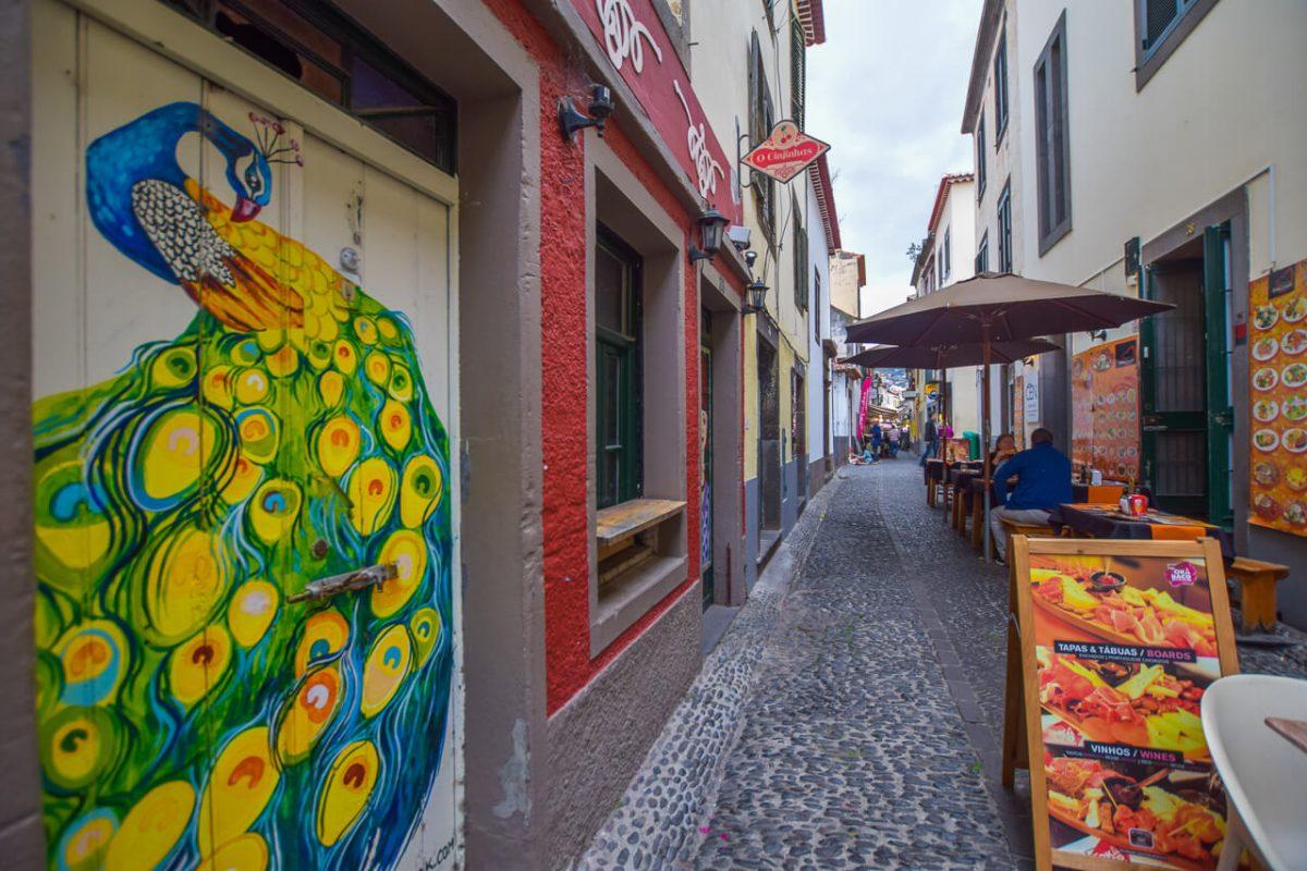 Funchal Madeira - Street art