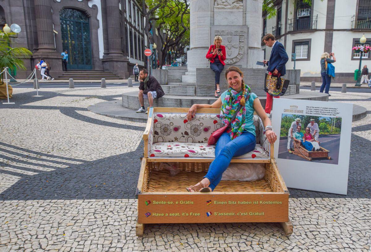 Funchal Madeira Toboggan ride