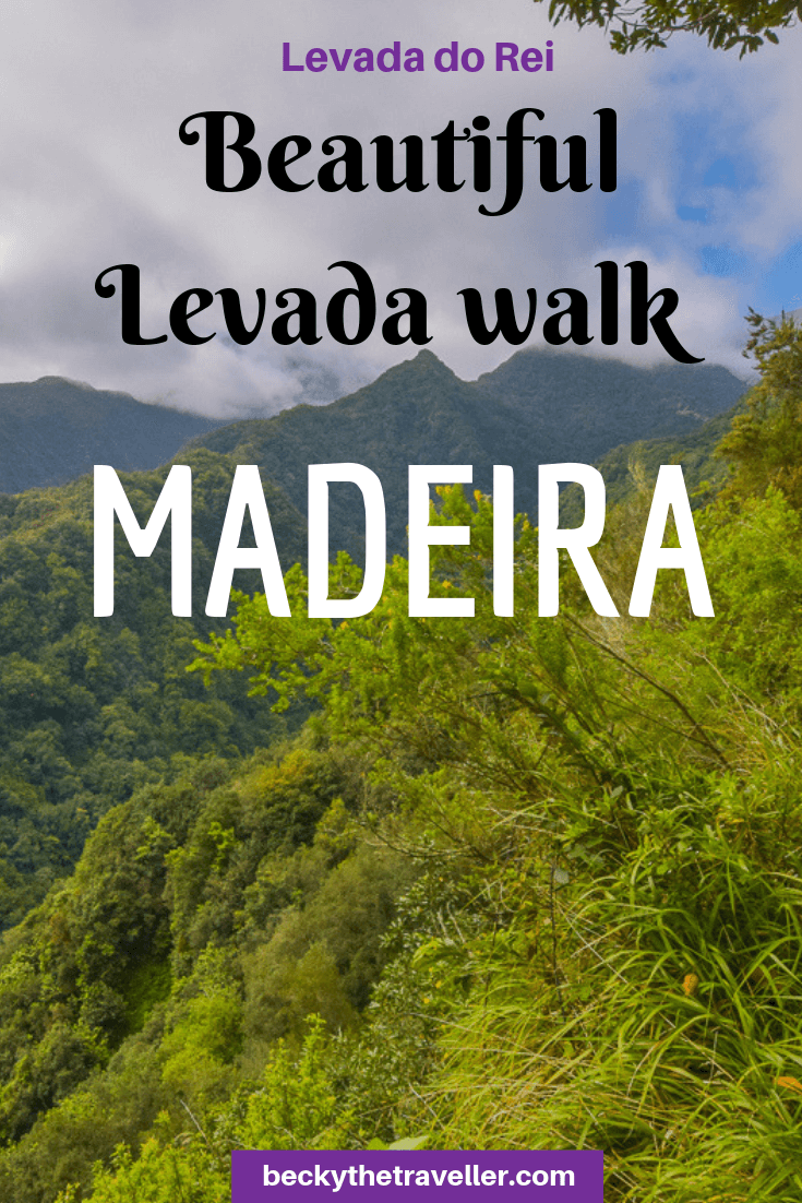 Levada do Rei walk - Madeira levada walks 1