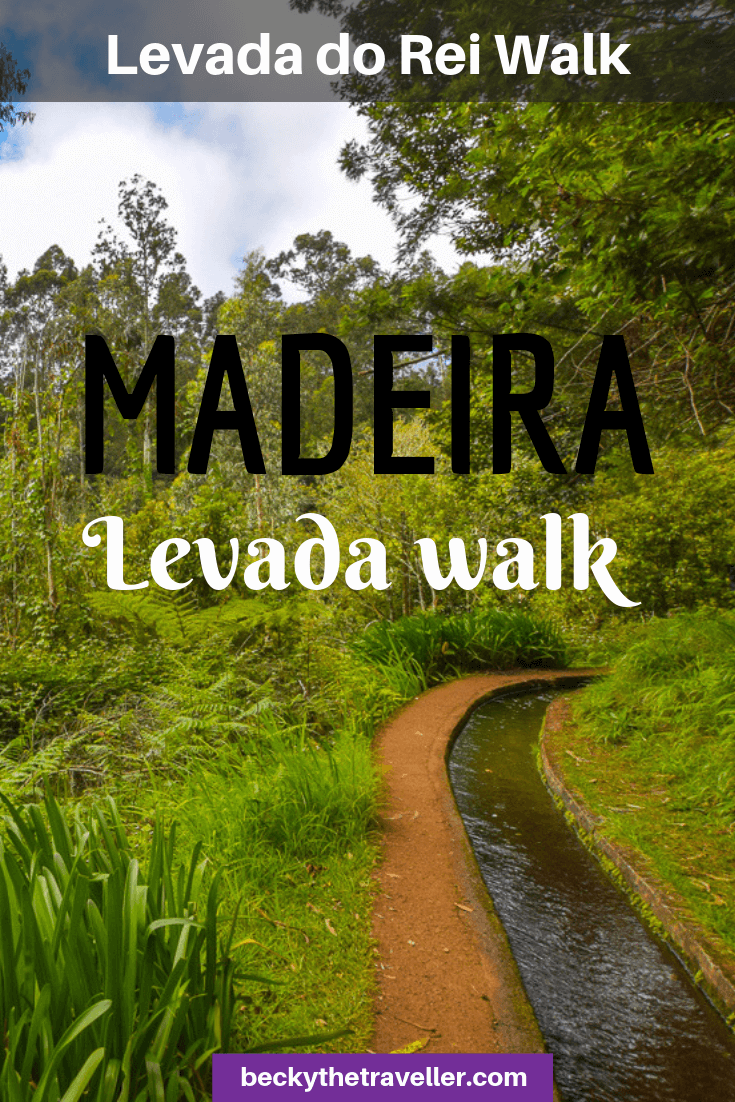 Levada do Rei walk - Madeira levada walks 2