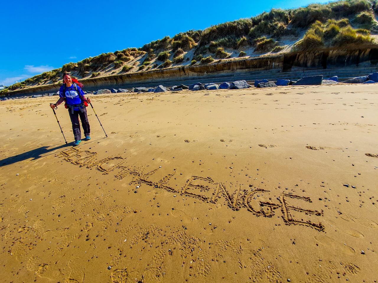 E2W Challenge - long-distance hike