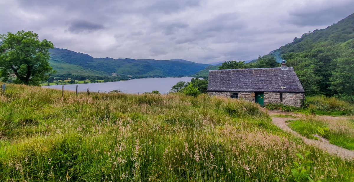 Bothy that I stayed at on the West Highland Way