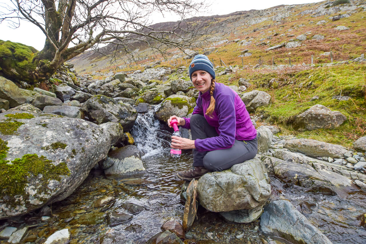 First trip with my Water-to-Go bottle in the Lake District