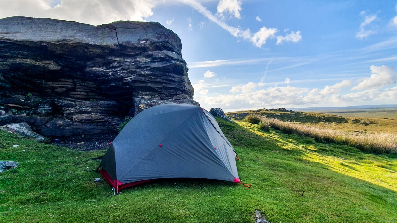 Camping at Tan Hill, the highest pub in England
