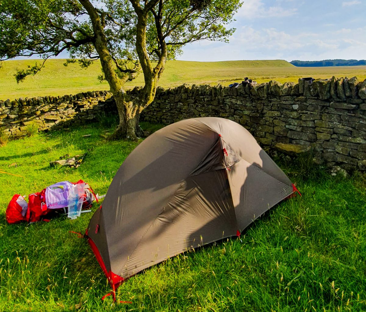 MSR Hubba NX - perfect for backpacking + wild camping trips