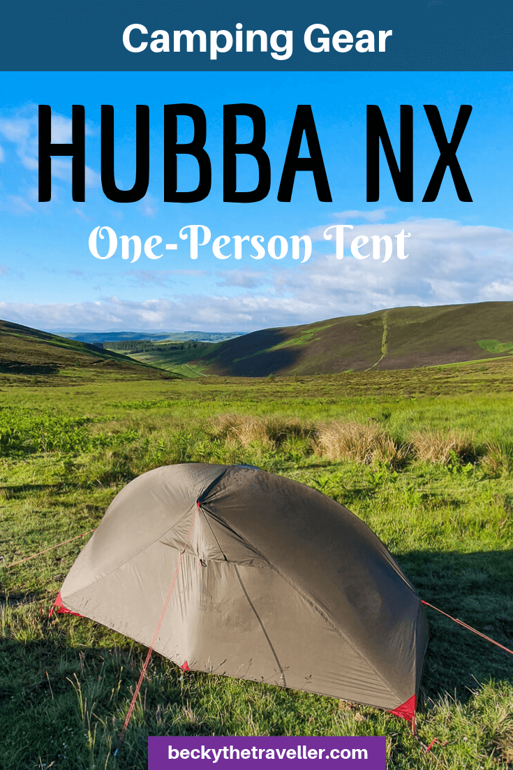 MSR Tents UK - Hubba NX 1