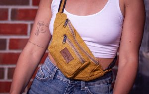 Hemp eco-friendly bum bag