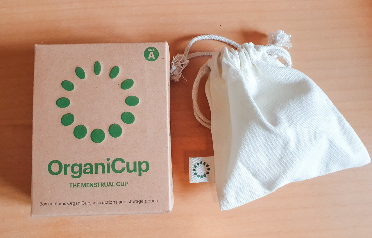 Menstrual cup - perfect for long hikes + wild camping