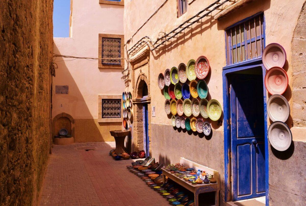 Morocca - Exploring street of Essaouira
